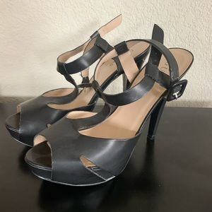 Guess strapped heels